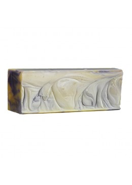 Jabón Lavanda y karité - hidratante y calmante - barra