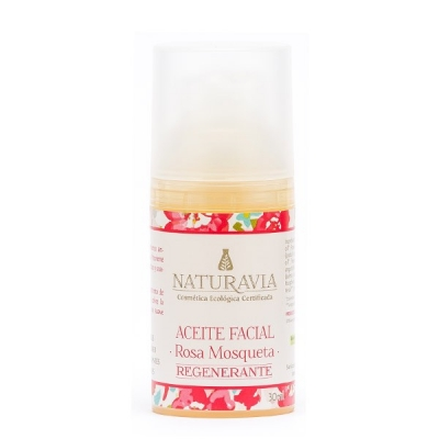 Aceite facial rosa mosqueta - regenerante