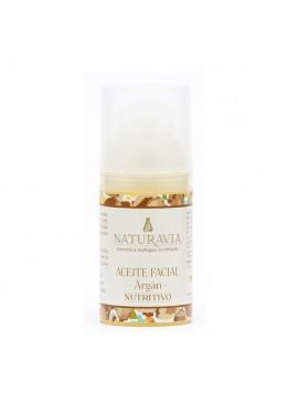 Aceite facial argán - nutritivo