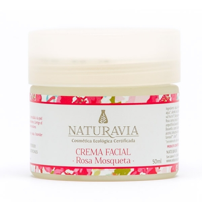 Crema facial rosa mosqueta - regenerante